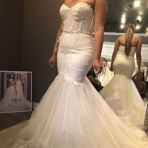 Winnie couture white wedding dress